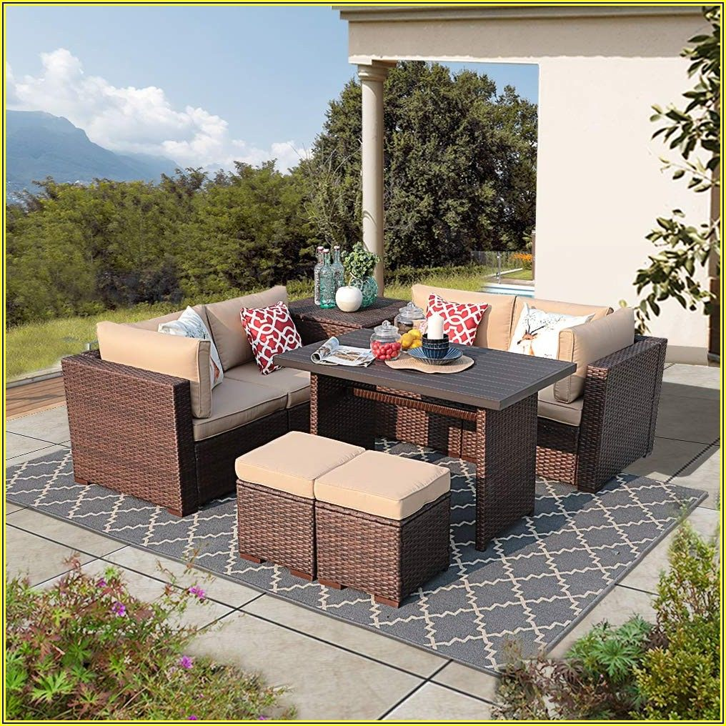Patio Sectional With Storage