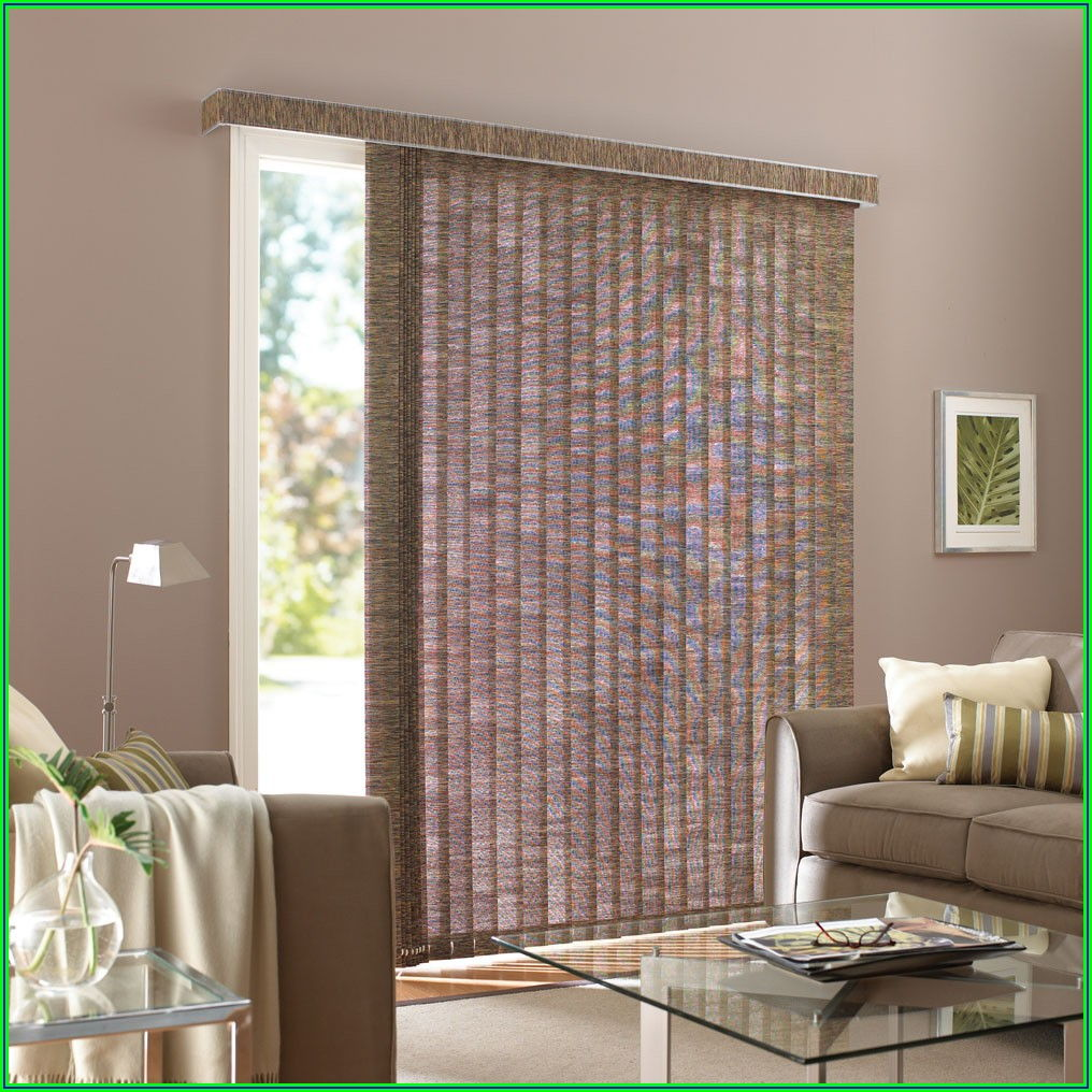 Patio Sliders With Blinds