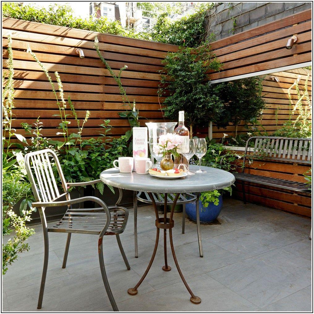 Patio Small Space Garden Ideas