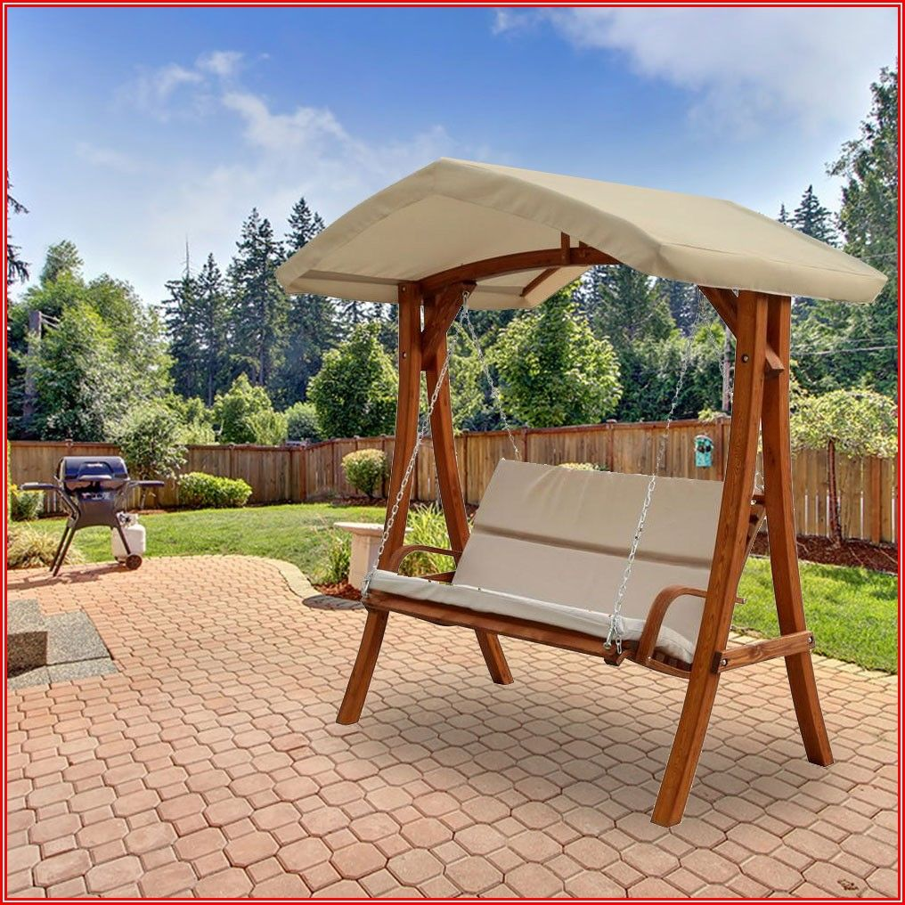 Patio Swing With Canopy Home Depot