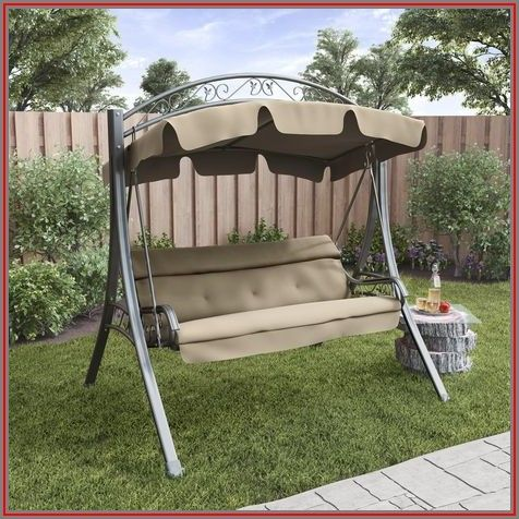 Patio Swing With Canopy Walmart
