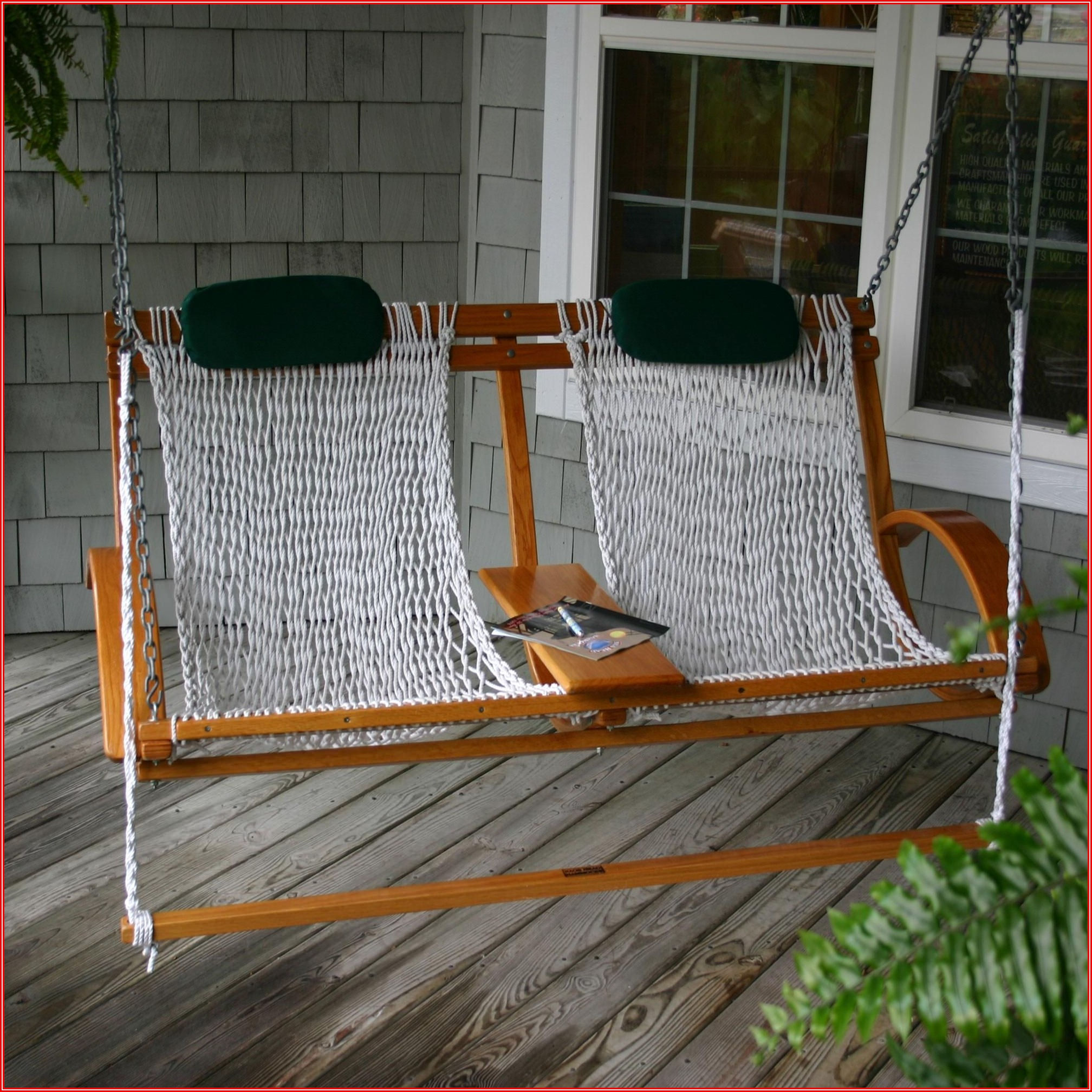 Patio Swing With Footrest