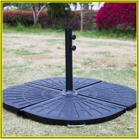 Patio Umbrella Base Pole
