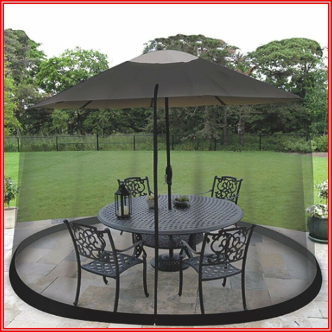 Patio Umbrella Mosquito Net 9ft Umbrella