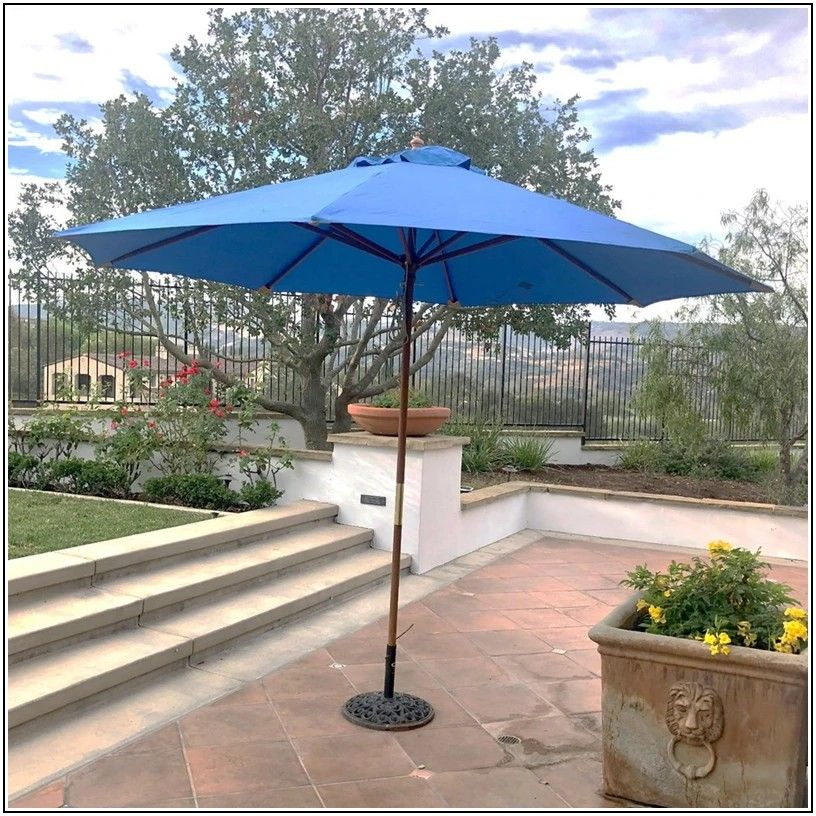 Patio Umbrella Replacement Canopy 11 Ft 8 Ribs