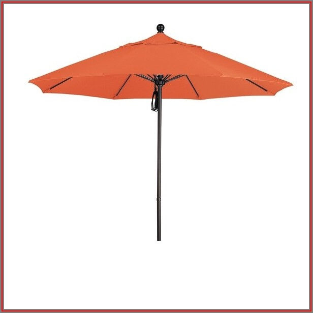 Patio Umbrella With Sunbrella Fabric