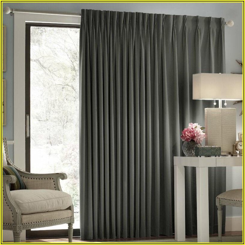 Patio Window Curtain Rods