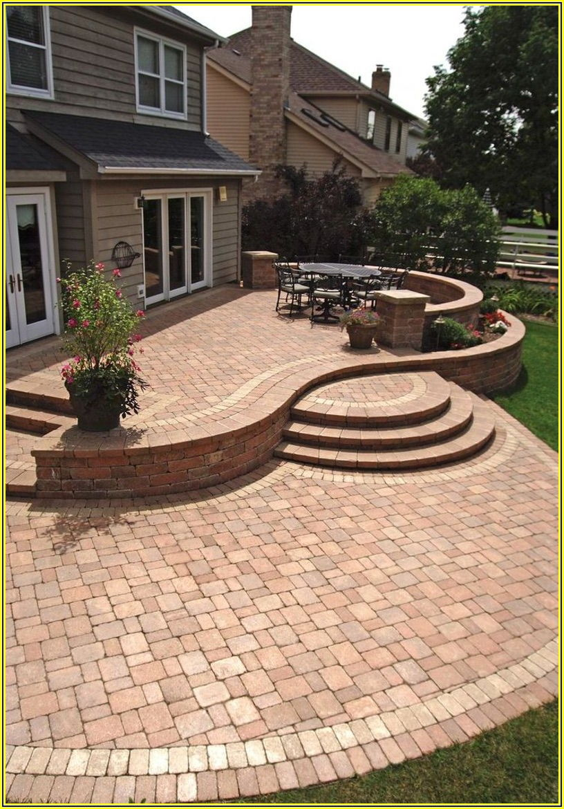 Paving Stone Designs For Patios