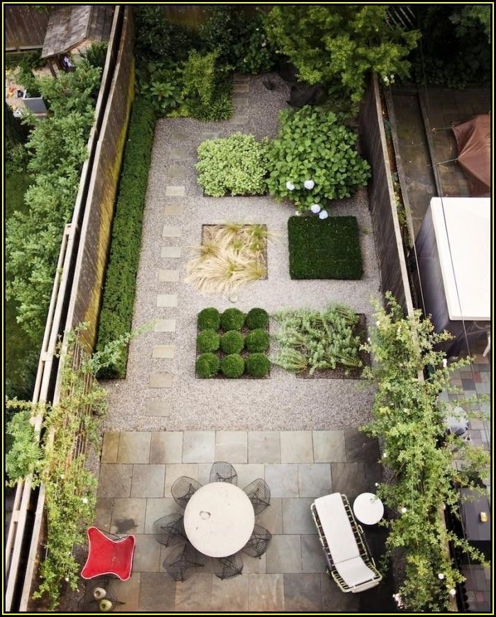 Pea Gravel Patio Border Ideas