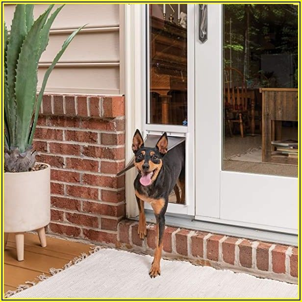 Petsafe Freedom Patio Panel 96 White Large Tall