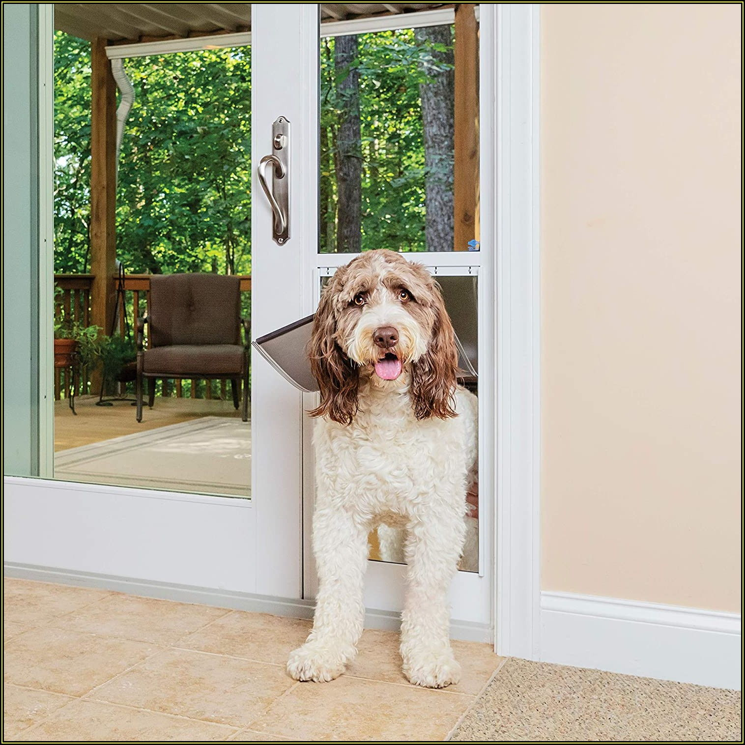 Petsafe Freedom Patio Panel Pet Door Large