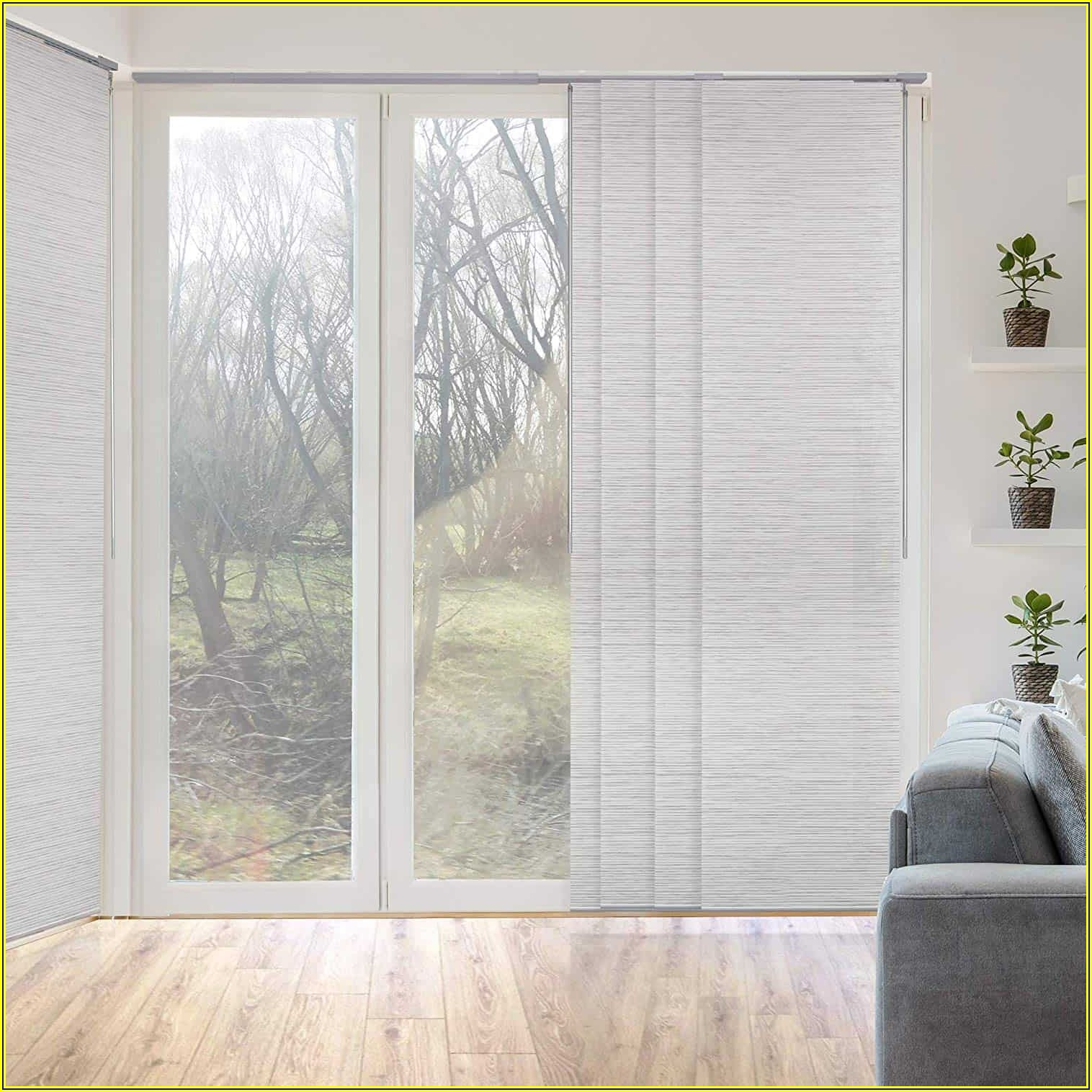 Pictures Of Patio Doors With Blinds