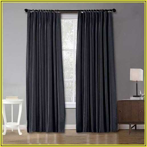 Pinch Pleat Patio Door Panel