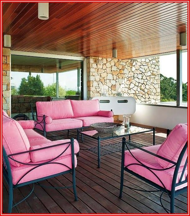 Pink Outdoor Patio Cushions