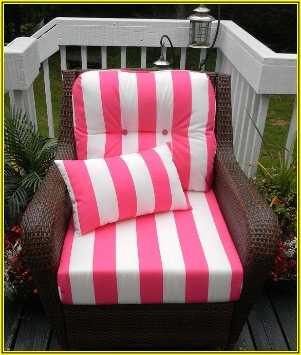 Pink Patio Chair Cushions