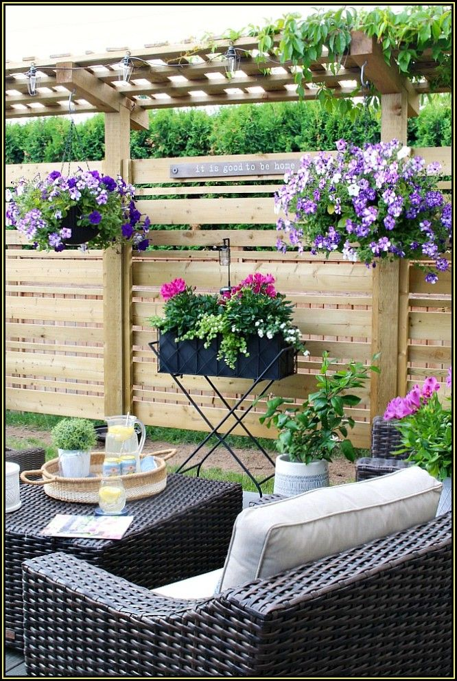 Pinterest Small Outdoor Patio Ideas