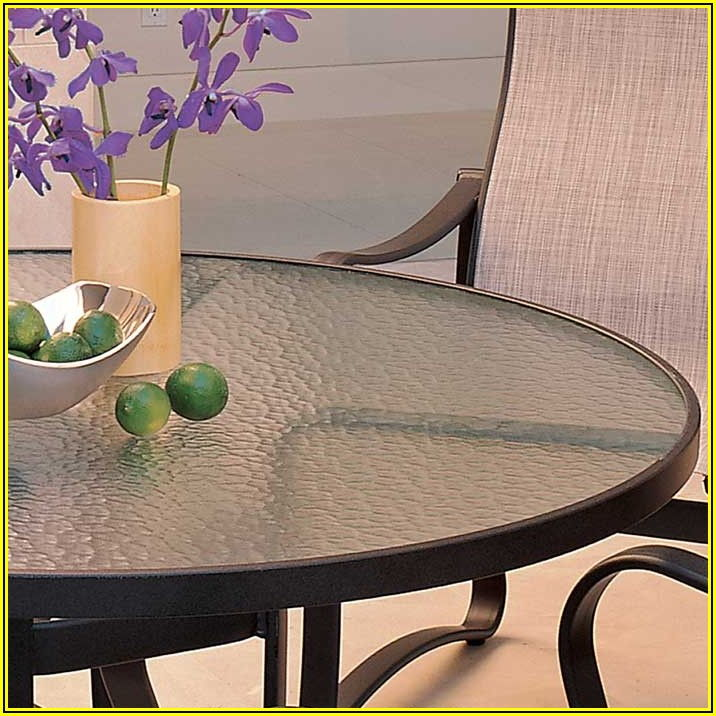 Plastic Patio Table Top