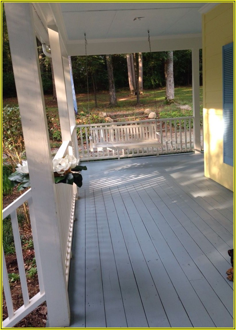 Porch And Patio Paint Colors