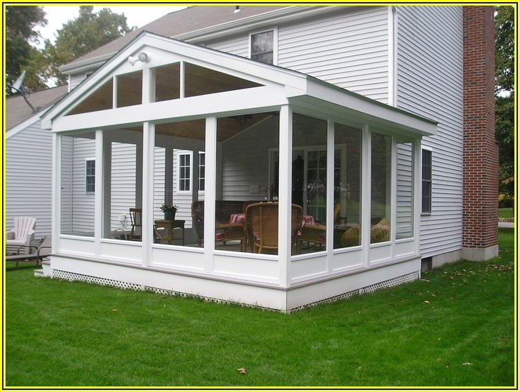 Porch And Patio Screening System