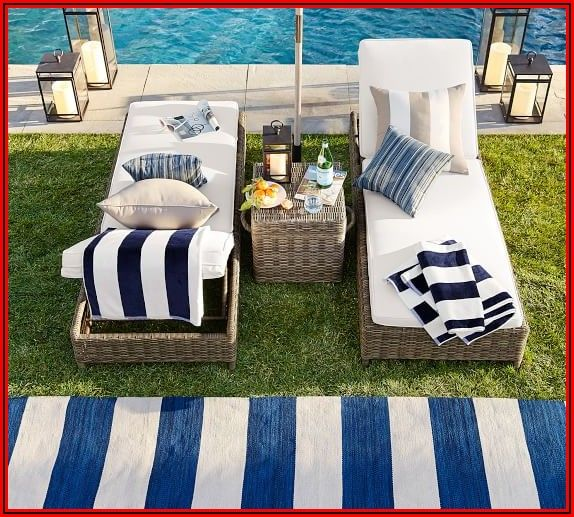 Pottery Barn Outdoor Patio Rugs
