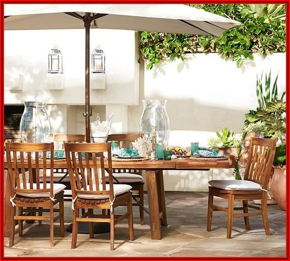 Pottery Barn Patio Dining Sets