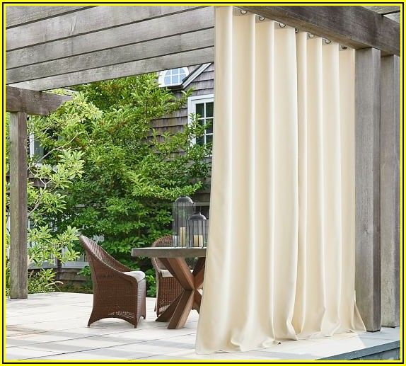 Pottery Barn Patio Door Curtains