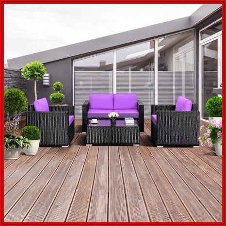 Purple Patio Furniture Cushions