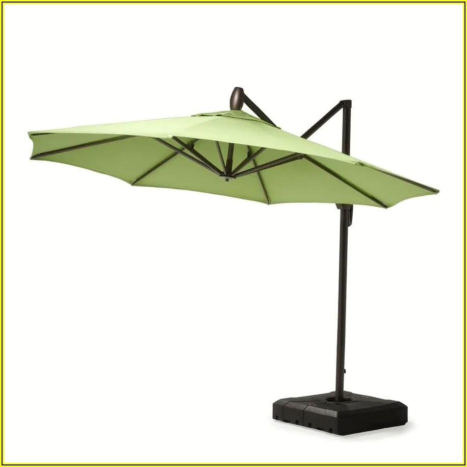 Push Button Tilt Patio Umbrella