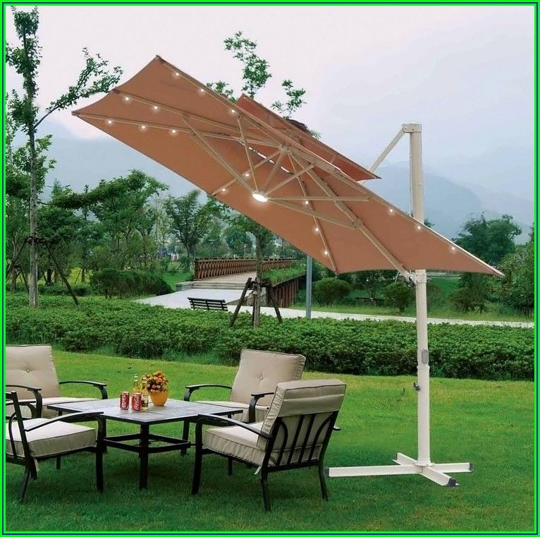 Qvc Offset Patio Umbrellas