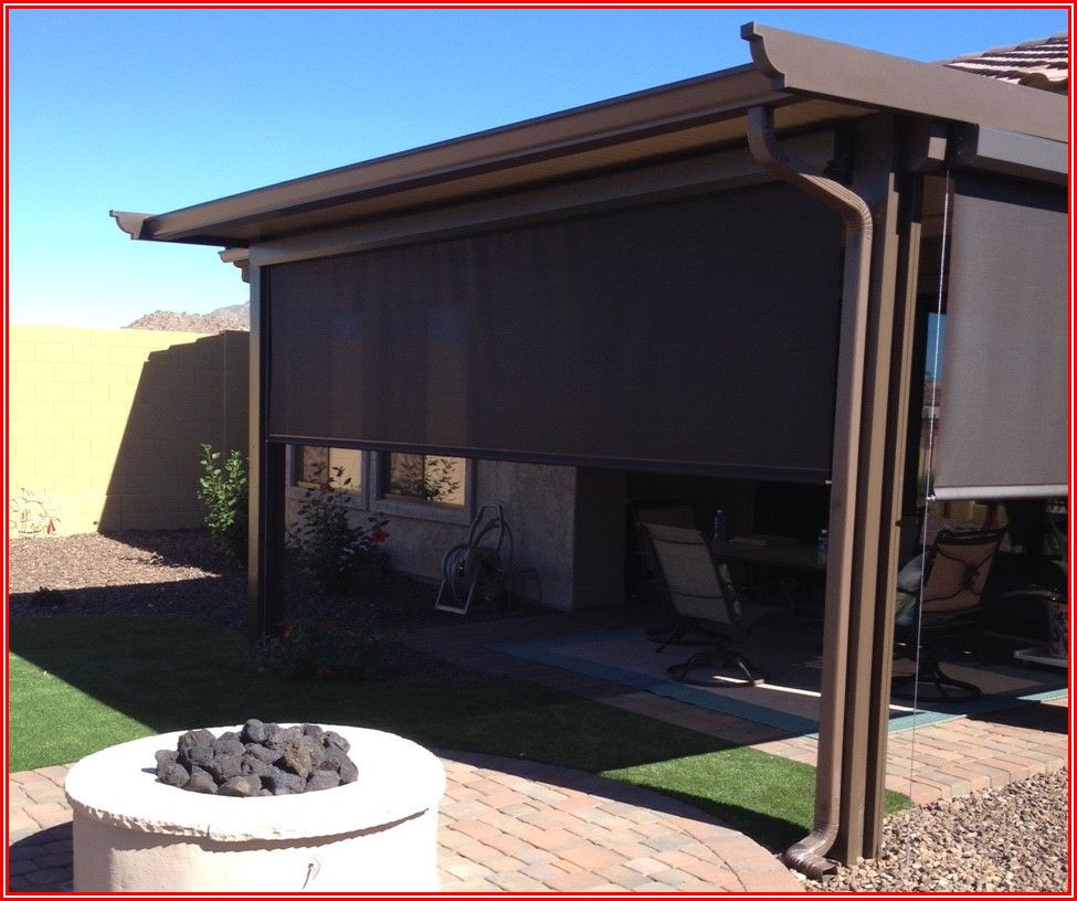 Rain Screen For Patio