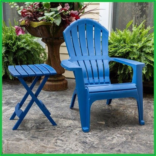Realcomfort Midnight Patio Adirondack Chair