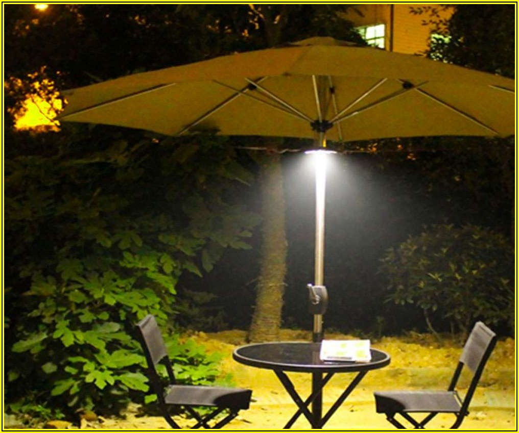 Rechargeable Patio Umbrella Lights