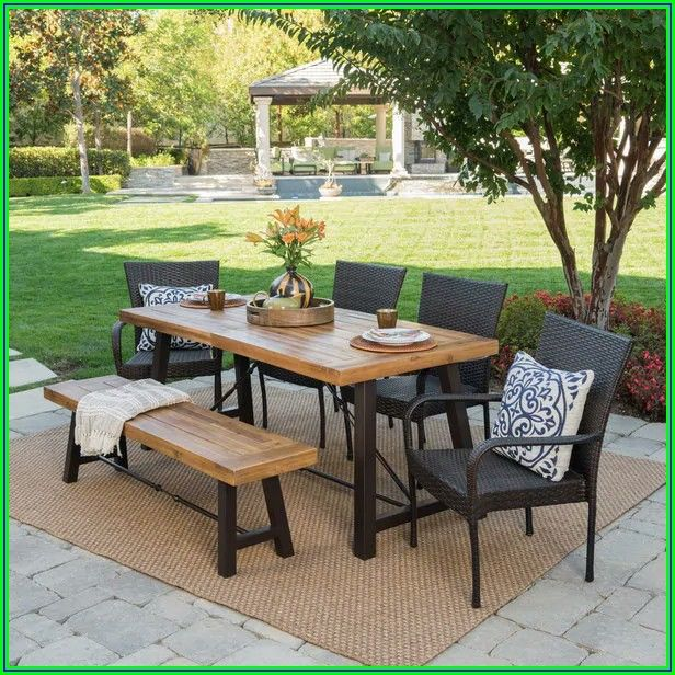 Rectangle Patio Dining Sets