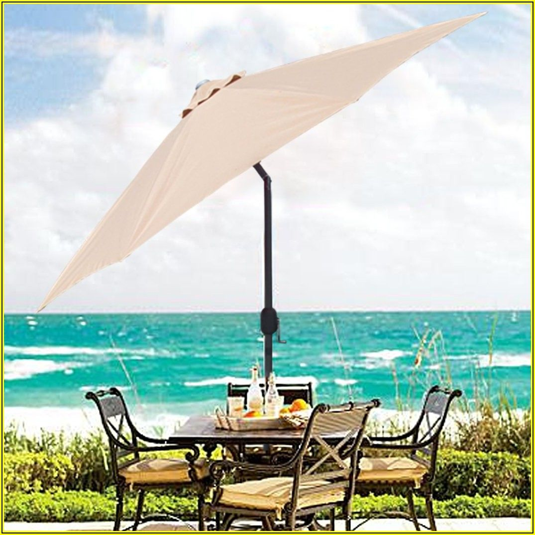 Rectangular Patio Umbrella Amazon