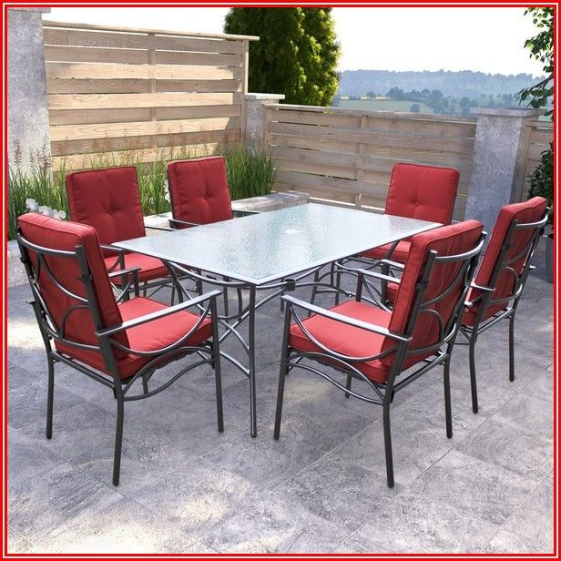Red And Black Patio Furniture