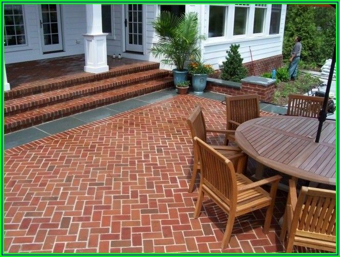 Red Brick House Patio Ideas