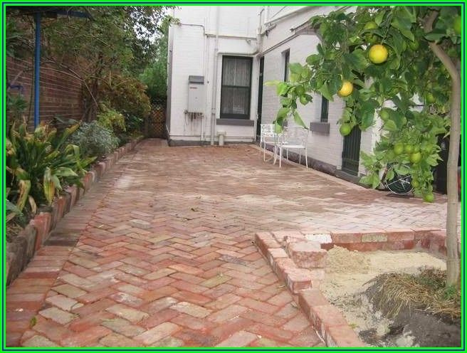 Red Brick Paver Patio Ideas