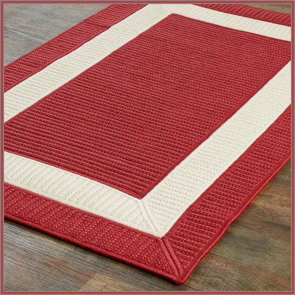 Red Outdoor Patio Rugs