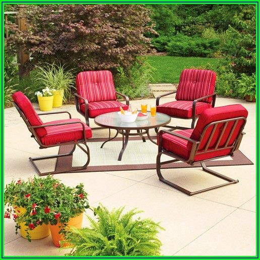 Red Patio Chairs Walmart