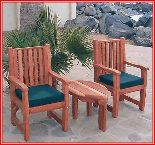 Redwood Patio Furniture Cushions