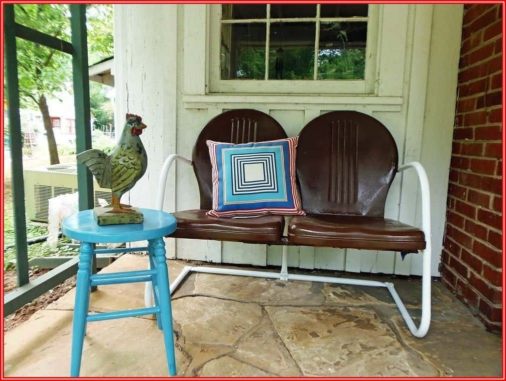 Repainting Aluminum Patio Furniture