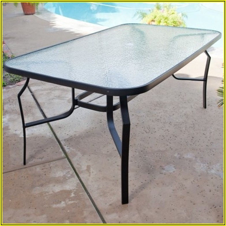 Replacement Tempered Glass For Patio Table