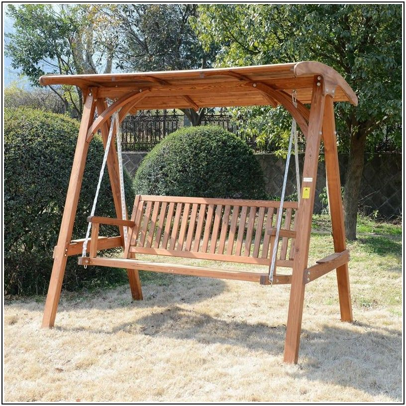 Replacing Patio Swing Seat With Wood