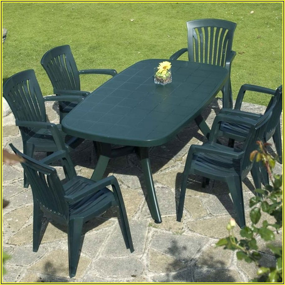 Resin Patio Table And Chairs Set