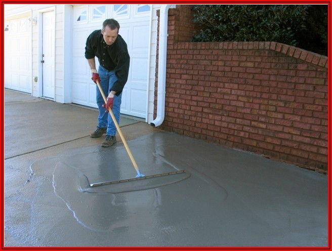 Resurface Cracked Concrete Patio