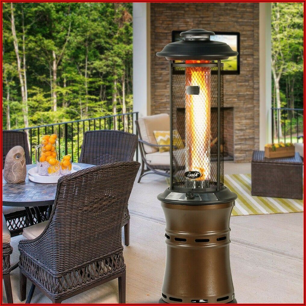 Retractable Propane Gas Patio Heater