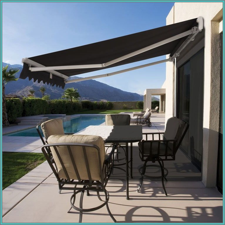 Roll Out Shade For Patio