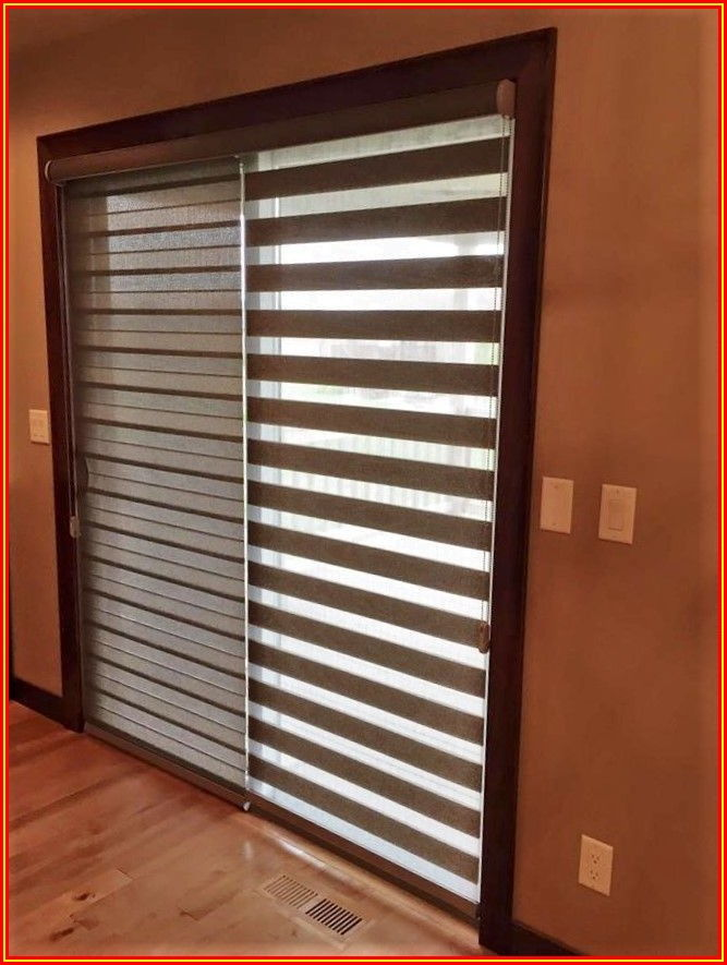 Roll Up Blinds For Patio Doors