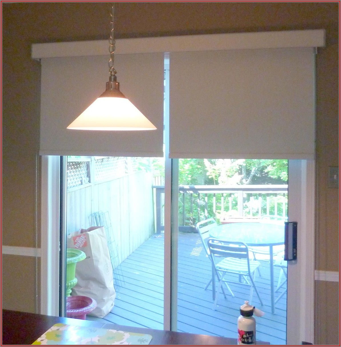 Roller Blinds For Sliding Patio Doors