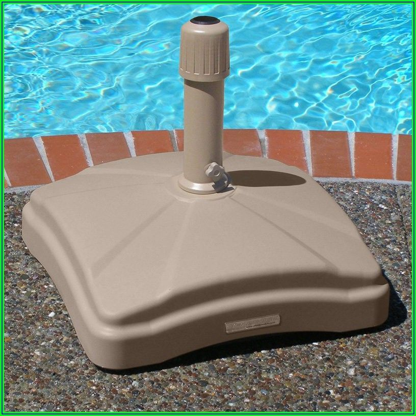 Rolling Patio Umbrella Base
